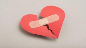 No se puede arreglar un corazón roto